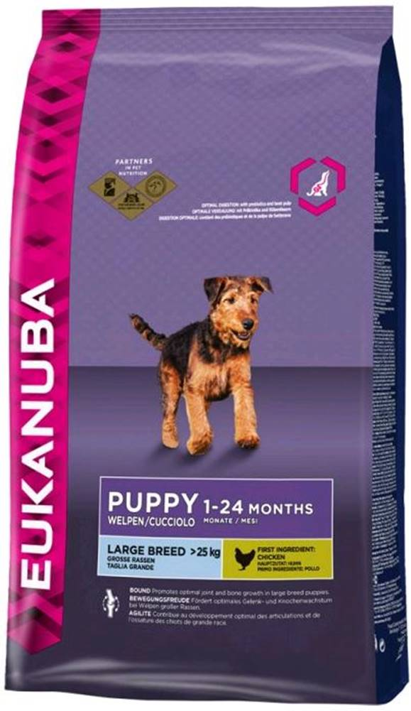 Eukanuba Eukanuba PUPPY/JUNIOR large - 3kg