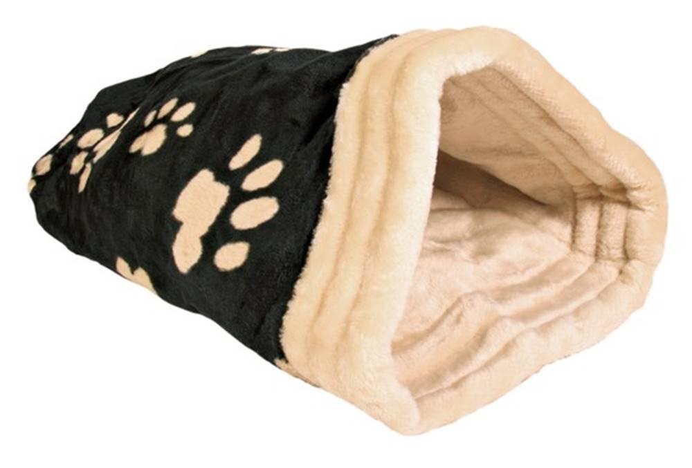 (bez zařazení) Pelech JASIRA čierno-béžový  - 25x27x45cm