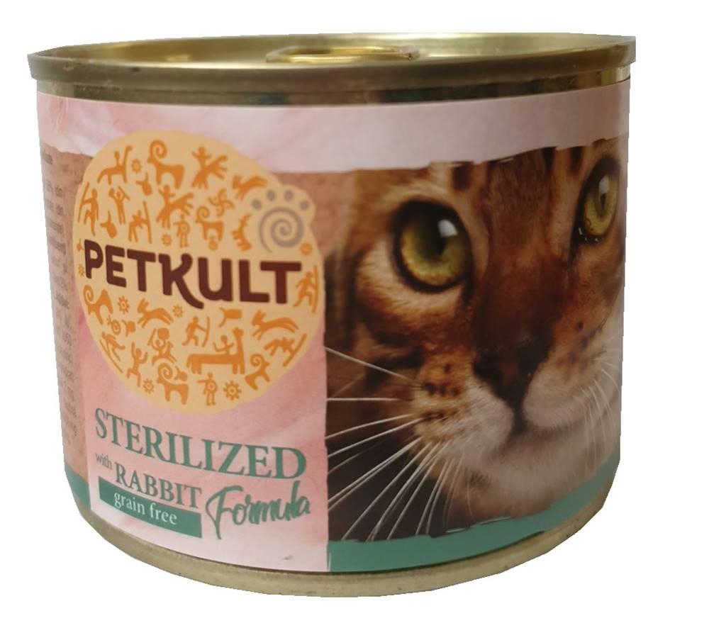 PETKULT  cat konz. STERILIS...