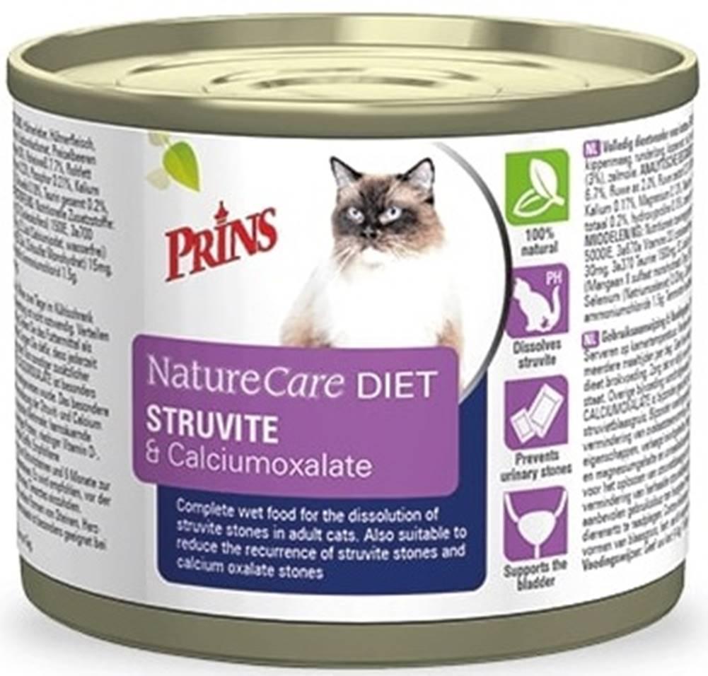 Prins PRINS NatureCare Veterinary Diet STRUVITE & Calciumoxalate - 200 g
