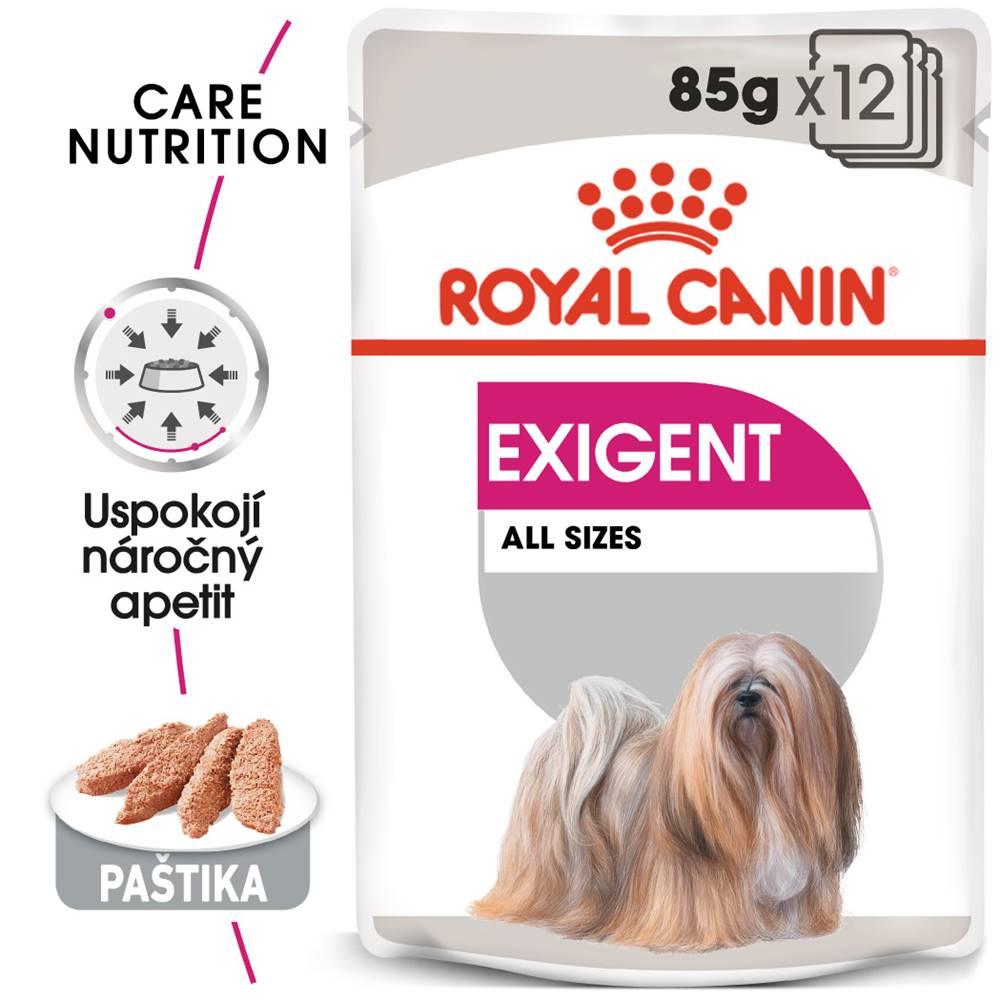 Royal Canin Royal Canin Exigent Dog Loaf - kapsička s paštétou pre maškrtné malých psov - 85g