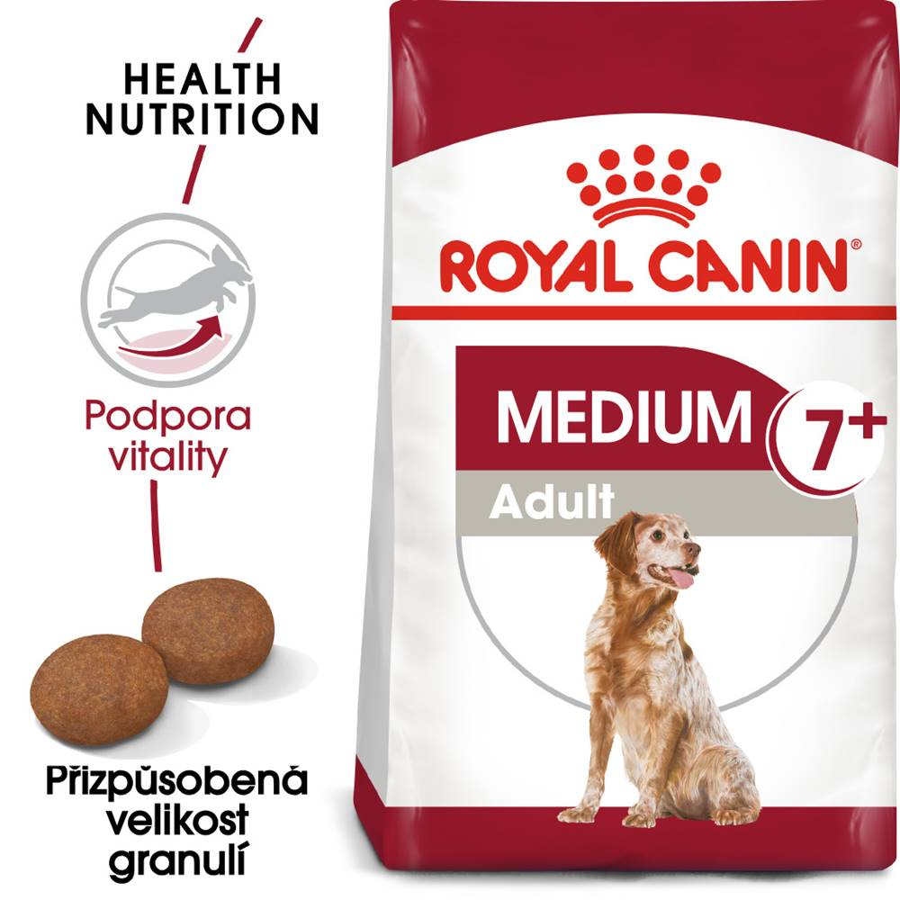 Royal Canin Royal Canin MEDIUM ADULT 7+ - 4kg