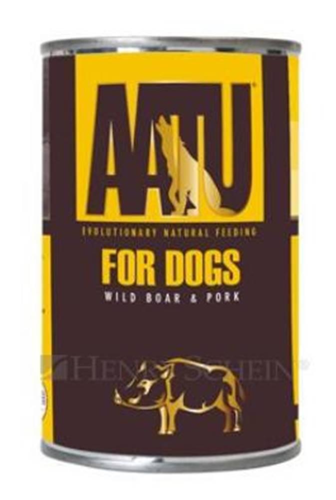 (bez zařazení) Aatu dog konz. WILD BOAR / pórom - 400g
