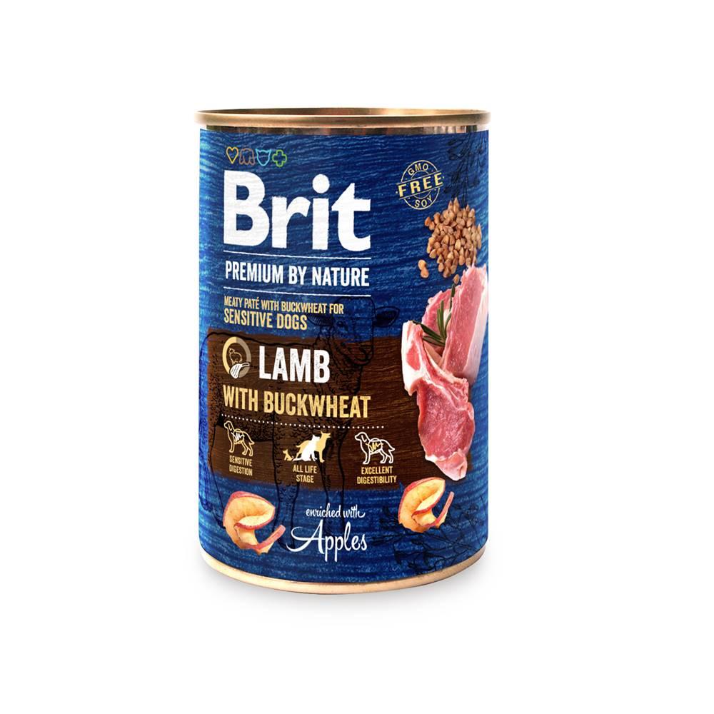 Brit BRIT dog Premium by Nature LAMB with BUCKWHEAT - 400g
