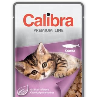CALIBRA cat kapsa KITTEN SALMON - 100g