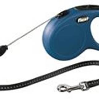 Flexi CLASSIC lanko  5m/12kg - Modré