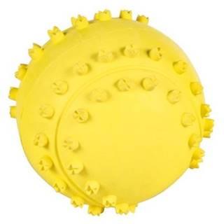 HRAČKA lopta BODLINKY so ZVUKOM - 6cm