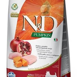 N&D dog GF PUMPKIN ADULT MINI chicken/pomegranate - 800g