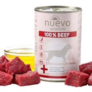 NUEVO dog konz. SENSITIVE hovädzie - 400g