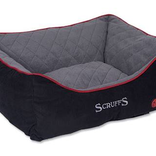 Pelech Scruffs thermal BOX BED čierny - 50x40cm