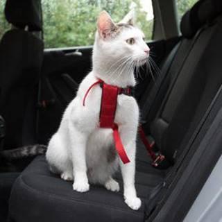 Postroj bezpečnostný pre mačku (trixie) - 20-50cm