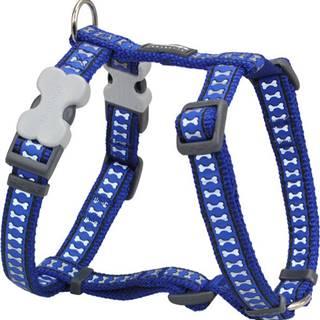 Postroj RD REFLECTIVE bones DARK BLUE - 2,5/56-80cm