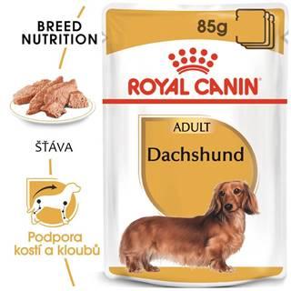Royal Canin Dachshund Loaf - kapsička s paštétou pre jazvečíka - 85g