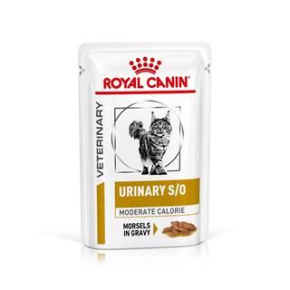 Royal Canin Veterinary Health Nutrition Cat URINARY MC vrecko in gravy - 85g