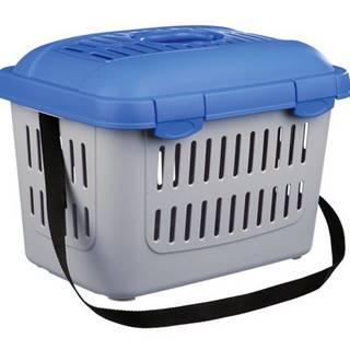 Transportný box CAPRI Midi 44x33x32cm/5kg - modrý