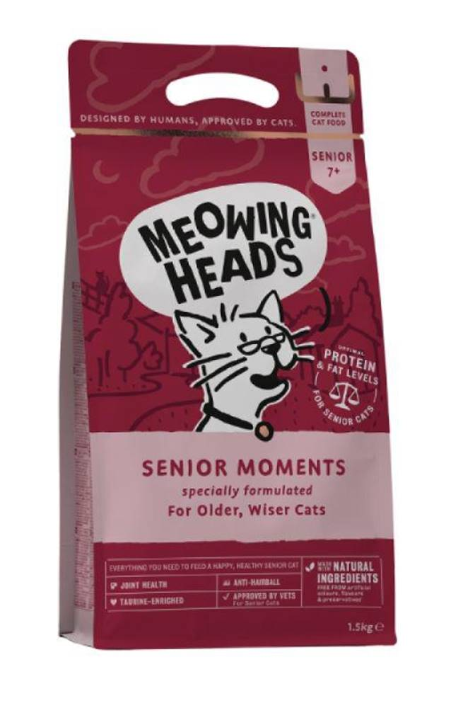 Meowing Meowing Heads  SENIOR MOMENTS - 450g
