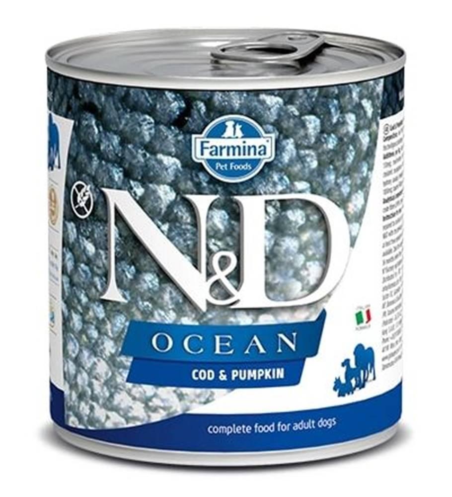 Natural&Delicious N&D dog OCEAN konz. ADULT codfish/pumpkin - 285g