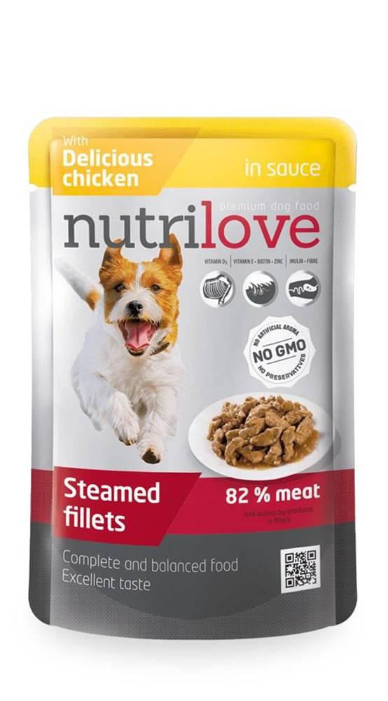 Nutrilove NUTRILOVE pes  ADULT  kaps. - KURACIE 85g