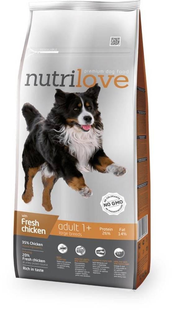 Nutrilove NUTRILOVE pes ADULT large - 3kg
