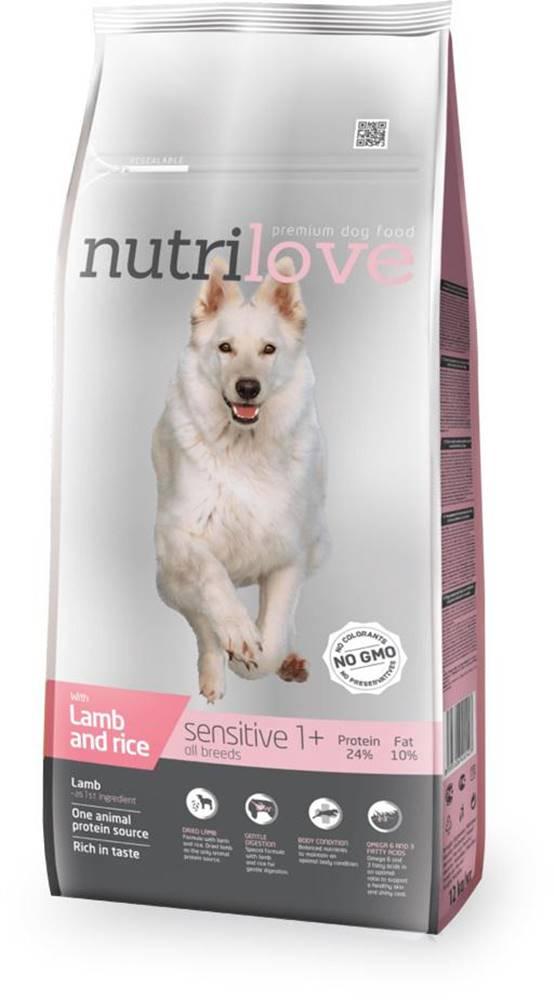 Nutrilove NUTRILOVE pes SENSITIVE jehněčí - 3kg