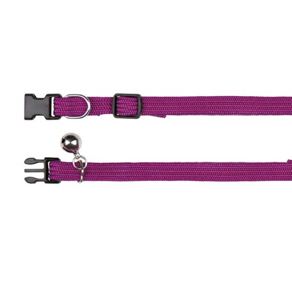 Trixie Obojok nylonový, elastický s rolničkou (trixie) - 32cm