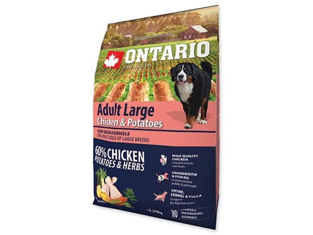 Ontario ONTARIO dog ADULT LARGE chicken - 2.25kg