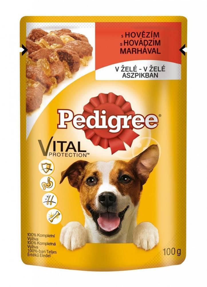 Pedigree PEDIGREE kapsa   100g - Junior kuracie mäso s ryžou v želé