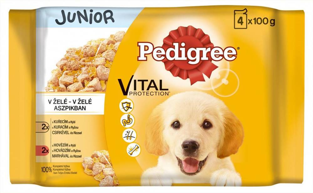Pedigree PEDIGREE kapsa  JUNIOR - 4ks