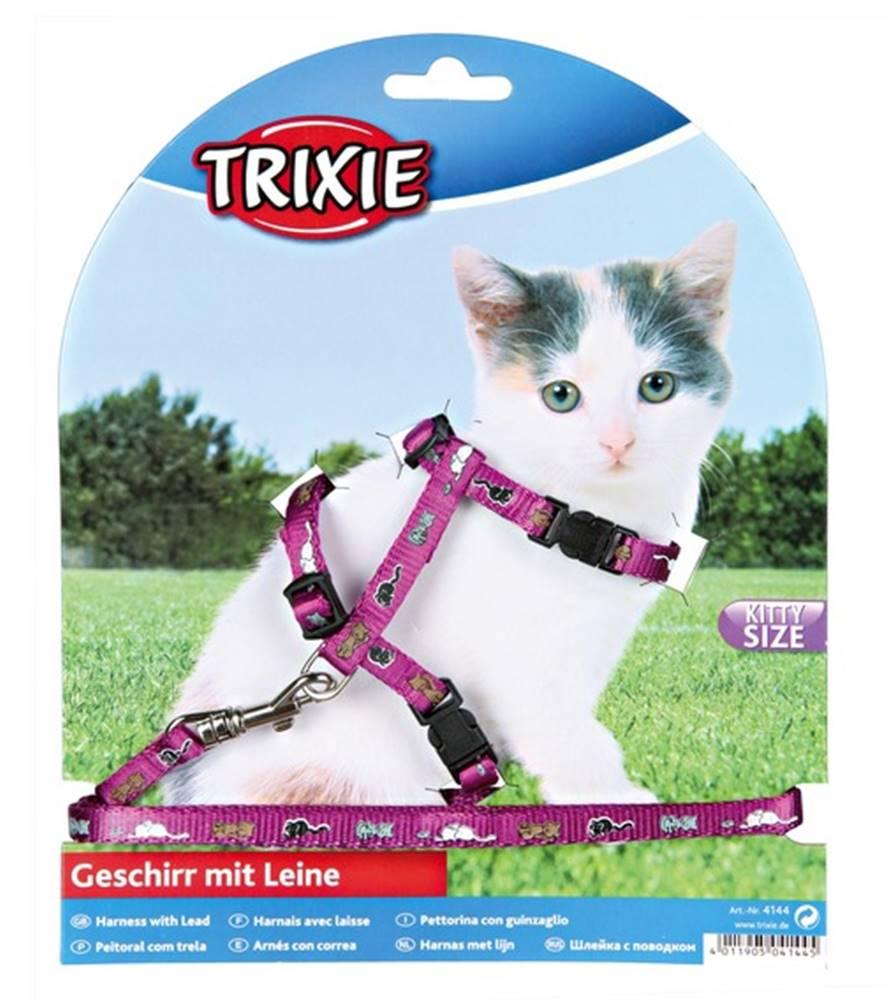 Trixie Postroj (trixie) CAT pre mačatá s vodítkem - 8mm/21-34cm/1,2m