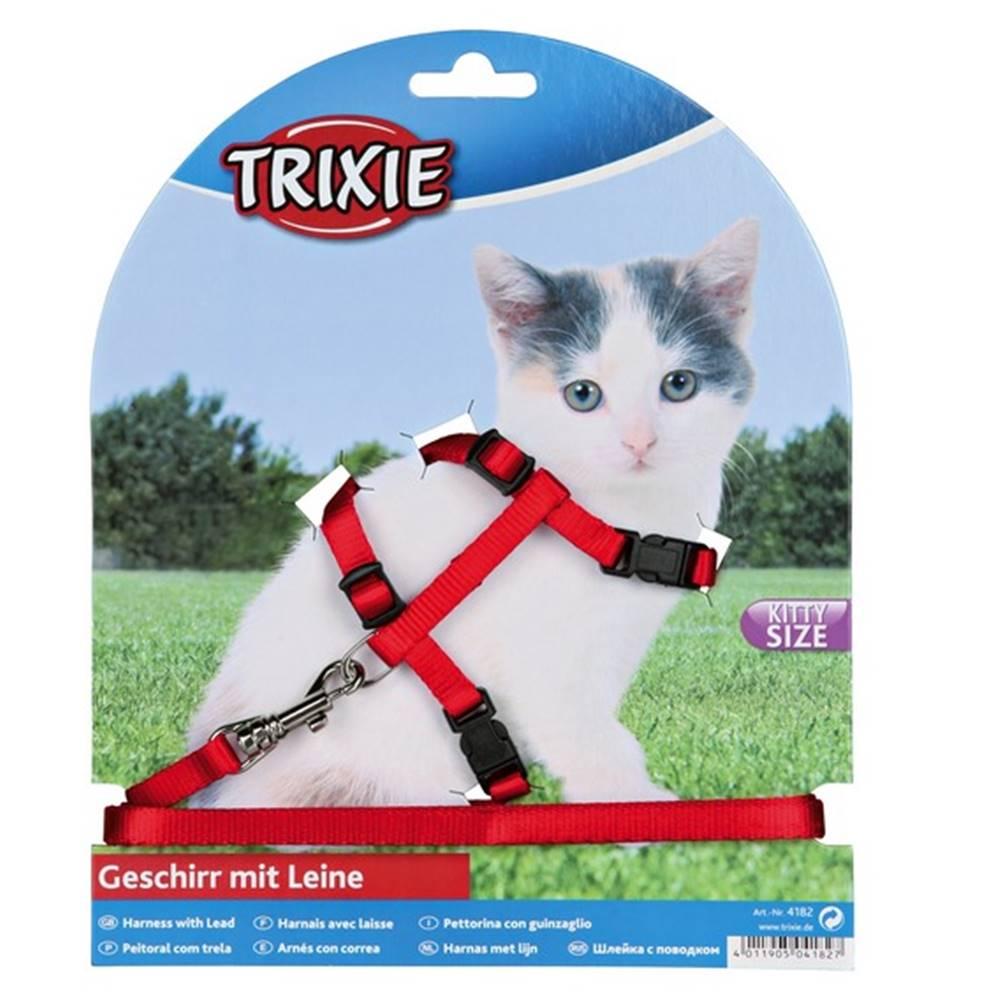 Trixie Postroj (trixie) CAT pre mačatá s vodítkom - 8mm/19-31cm/1,2m
