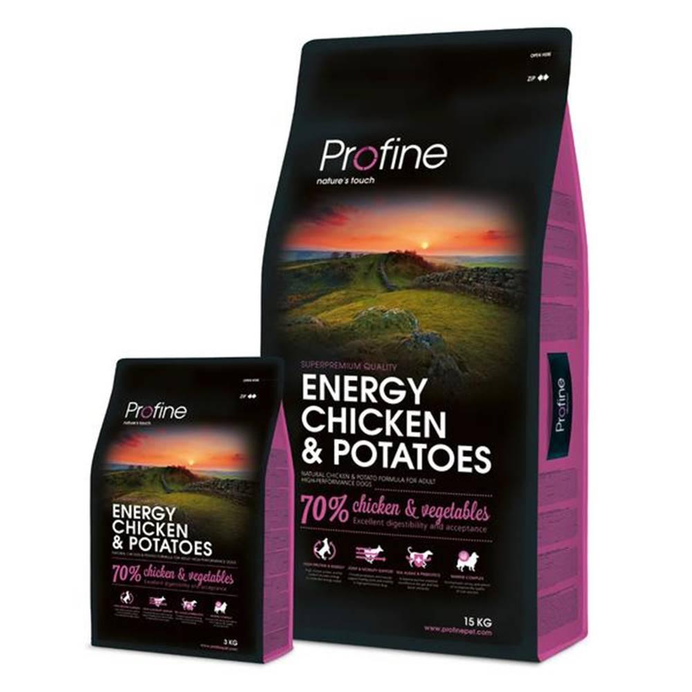 Profine PROFINE ENERGY Chicken/Potatoes - 15kg