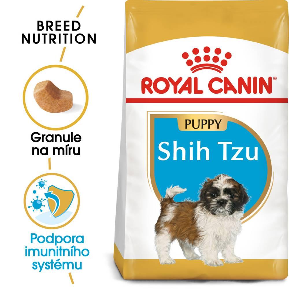 Royal Canin Royal Canin Shih Tzu Puppy - granule pre šteňa Shih Tzu - 1,5kg
