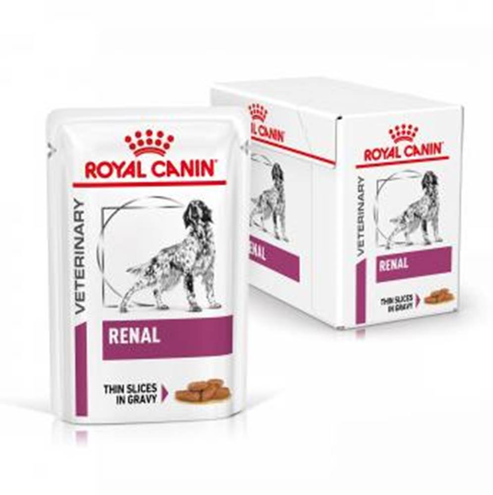 Royal Canin Royal Canin Veterinary Diet Dog RENAL Pouch vrecko - 100g