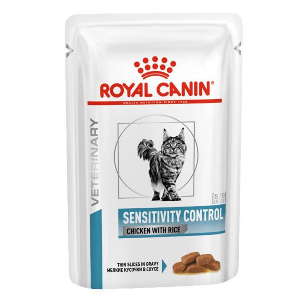 Royal Canin Royal Canin Veterinary Health Nutrition Cat SENSITIVITY CONTROL chicken with rice vrecko - 85g