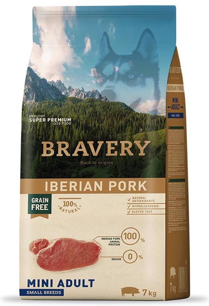 Bravery BRAVERY dog ADULT mini IBERIAN PORK - 2kg