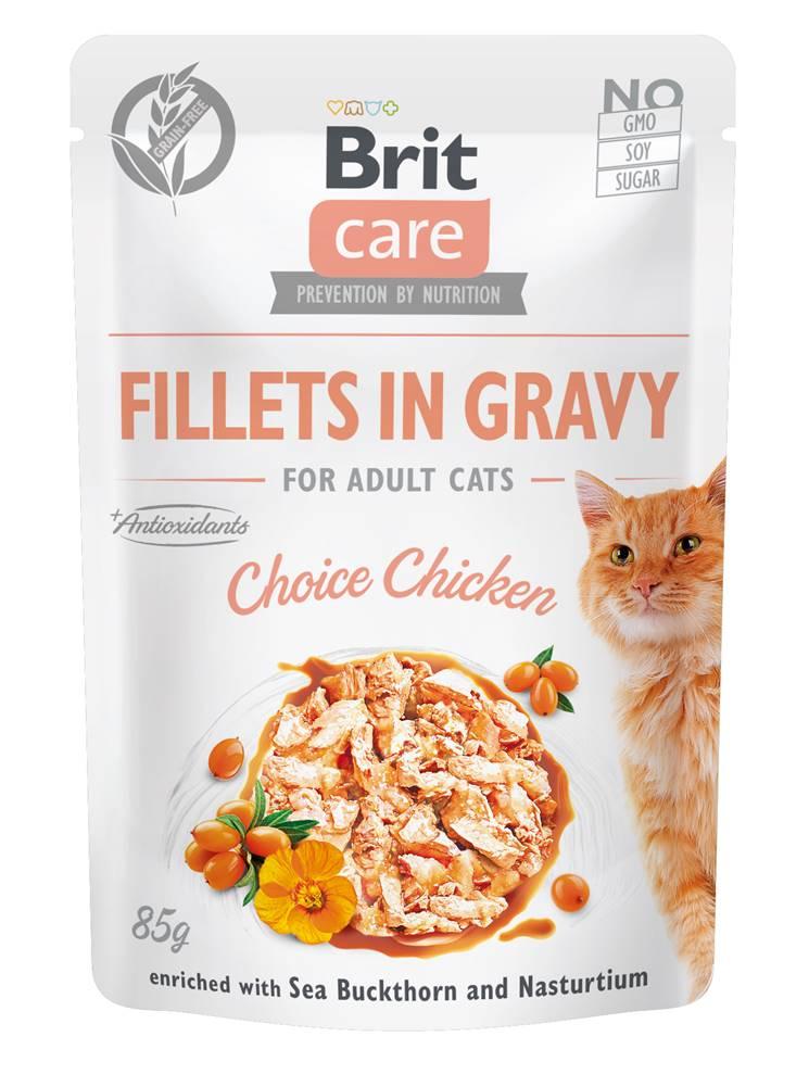 Brit Care BRIT CARE cat kapsa ADULT  CHOICE  chicken - 85g