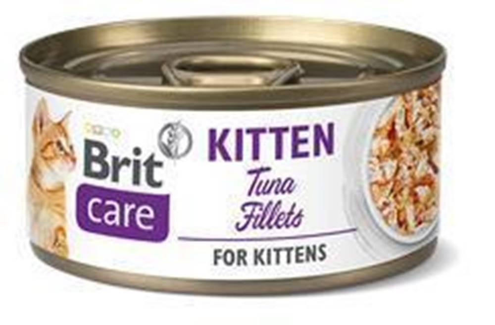 Brit Care BRIT CARE cat konz. KITTEN  TUNA - 70g