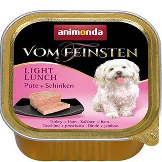 ANIMONDA dog paštika LIGHT LUNCH 150g - Morka / šunka