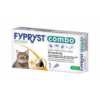 Antiparazitný spot-on  FYPRYST  COMBO  pre mačky a fretky - mačka
