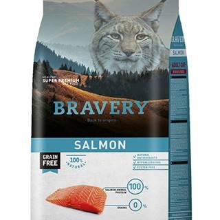 BRAVERY cat STERILIZED salmon - 400g