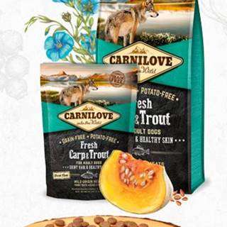 CARNILOVE dog FRESH ADULT CARP/trout - 1,5kg