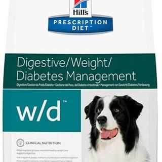 Hills Canine  w/d (dieta) - 4kg