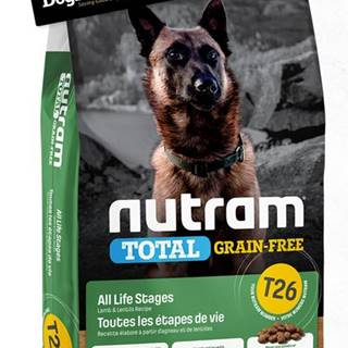 NUTRAM dog T26 - TOTAL GF  LAMB/lentils - 2kg