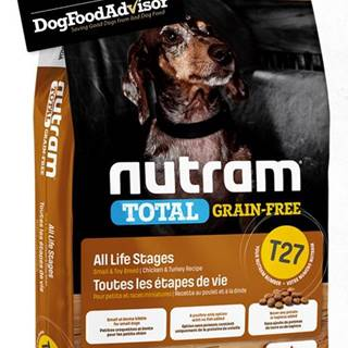 NUTRAM dog T27 - TOTAL GF SMALL chicken/turkey  - 2kg