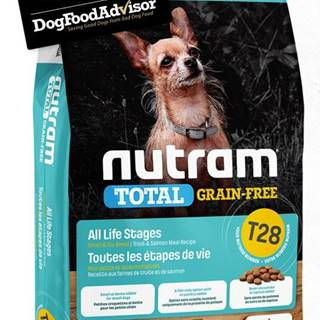 NUTRAM dog T28 - TOTAL GF SMALL salmon/trout - 2kg