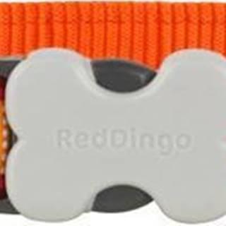 Obojek RD LOTZADOTZ orange - 1,2/20-32cm