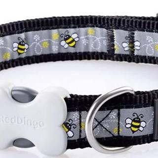 Obojok RD BUMBLE BEE black - 1,2/20-32cm
