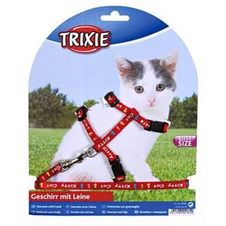 Postroj (trixie) pre mačiatka KITTY CAT - 21-33/8mm/1,20cm