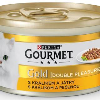 PURINA GG double pleasure  KRÁLIK/PEČEŇ konzerva - 85g