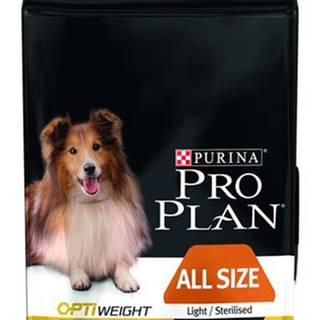 Purina PRO PLAN Dog All Size Adult Ligh & Sterilised - 3kg